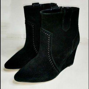 NEW Rebecca Minkoff Wedge Ankle Boots SZ 6.5 6